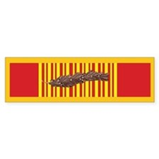 Vietnam Gallantry Cross Bumper Bumper Sticker