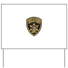 Steuben County Sheriff Yard Sign