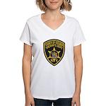 Steuben County Sheriff Women's V-Neck T-Shirt