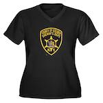 Steuben County Sheriff Women's Plus Size V-Neck Da