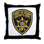 Steuben County Sheriff Throw Pillow