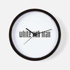 White Van Man Wall Clock