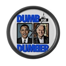 Dumb and Dumber Large Wall Clock