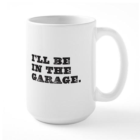 In Garage Large Mug