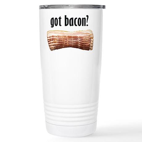 got bacon? Stainless Steel Travel Mug