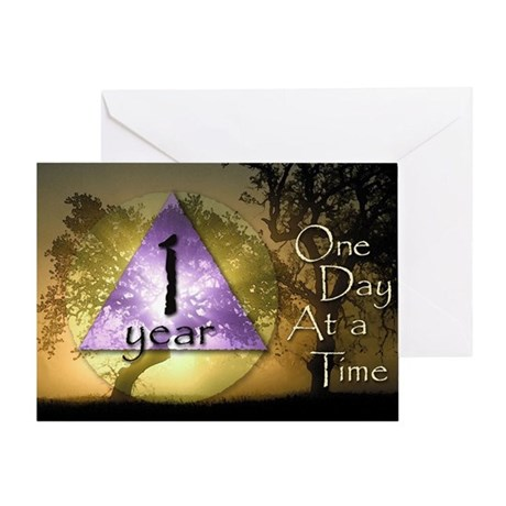 1 Year ODAAT Birthday Card Greeting Card