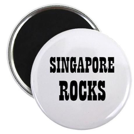 "SINGAPORE ROCKS 2.25"" Magnet (10 pack)"
