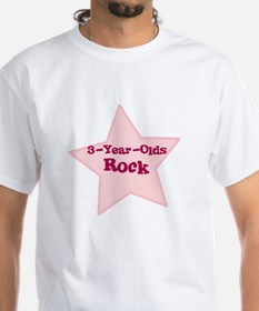 3-Year-Olds Rock Shirt