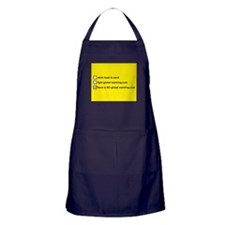 Cute There is no global warming Apron (dark)