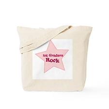 1st Graders Rock Tote Bag