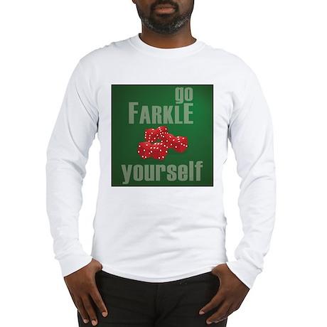 Farkle Yourself 12x12 Long Sleeve T-Shirt