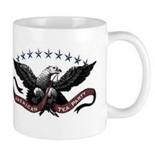 American Tea Party Eagle Mug