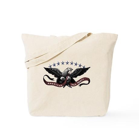 American Tea Party Eagle Tote Bag