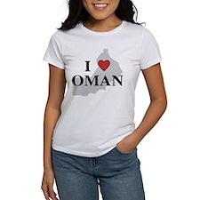 I Love Oman Tee
