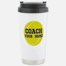 Cute Tennis Travel Mug