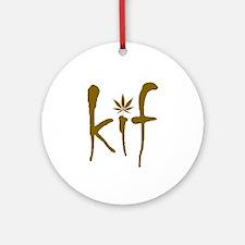 Kif Ornament (Round)