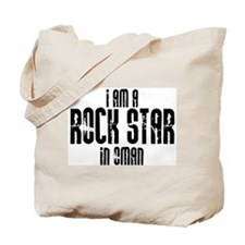 Rock Star In Oman Tote Bag