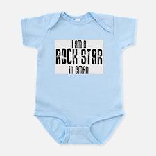 Rock Star In Oman Infant Creeper