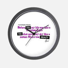 Cute Twilight breaking dawn no measure of time with you Wall Clock