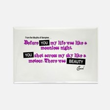 Cool Edward cullen quotes Rectangle Magnet