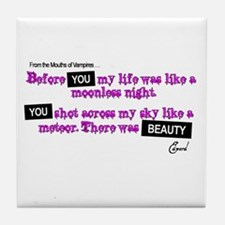 Cool Breaking dawn quotes Tile Coaster