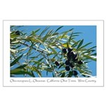 Wine Country Olives Large Poster