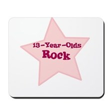 13-Year-Olds Rock Mousepad