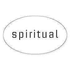 Spiritual Oval Decal