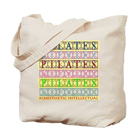19.99 Pilates and Fitness Des Tote Bag