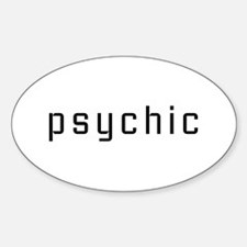 Psychic Oval Decal