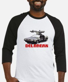 3-Delorean Baseball Jersey