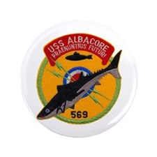 "USS ALBACORE 3.5"" Button (100 pack)"
