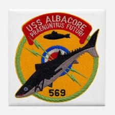 USS ALBACORE Tile Coaster