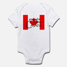 Canada Infant Bodysuit