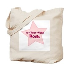 10-Year-Olds Rock Tote Bag