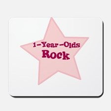 1-Year-Olds Rock Mousepad