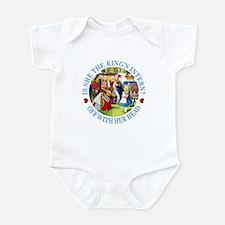 IS SHE THE KING'S INTERN? Infant Bodysuit