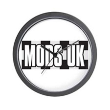 MODS UK Wall Clock