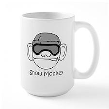 Large Snow Monkey Mug