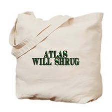 Atlas Will Shrug Tote Bag