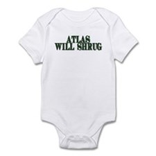Atlas Will Shrug Infant Bodysuit