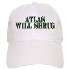 Atlas Will Shrug Baseball Baseball Cap