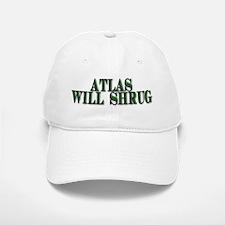 Atlas Will Shrug Baseball Baseball Cap