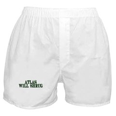 Atlas Will Shrug Boxer Shorts