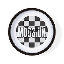 MODS UK BADGE Wall Clock