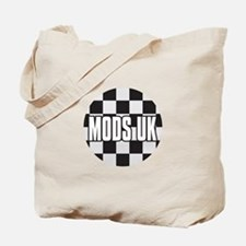 MODS UK BADGE Tote Bag
