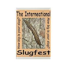 The International Slugfest Rectangle Magnet
