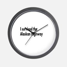 Unique Highway Wall Clock