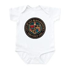 City of San Buenaventura Cali Infant Bodysuit