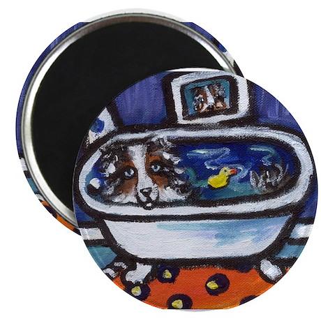 Australian Shepherd blue oran Magnet
